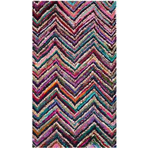 Nantucket Chevron Rug - 2' x 3' - Multicolour