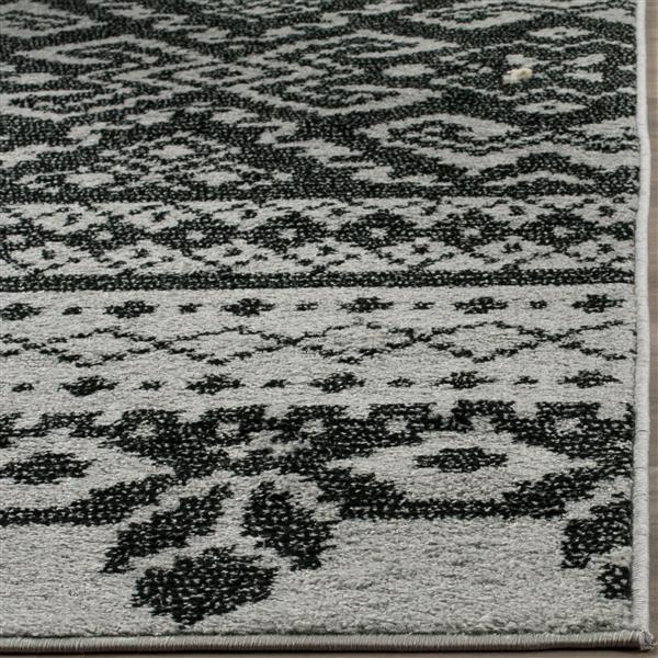 Safavieh Adirondack Overdyed Rug - 4' x 6' - Silver/Black