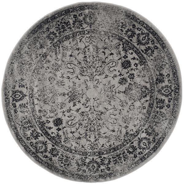 Safavieh Adirondack Overdyed Rug - 6' x 6' - Gray/Black