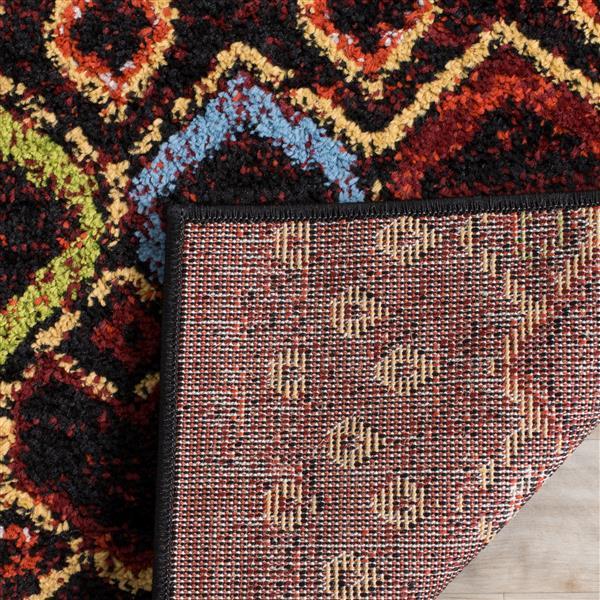 Safavieh Amsterdam Geometric Rug - 11' x 15' - Black