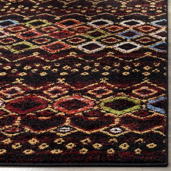 Safavieh Amsterdam Geometric Rug - 2' x 8' - Black