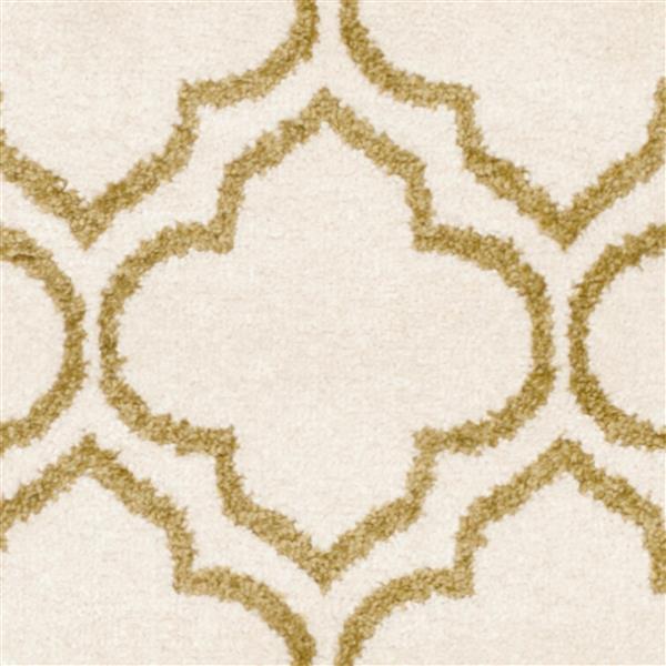 Safavieh Amherst Geometric Rug - 3' x 5' - Ivory/Green