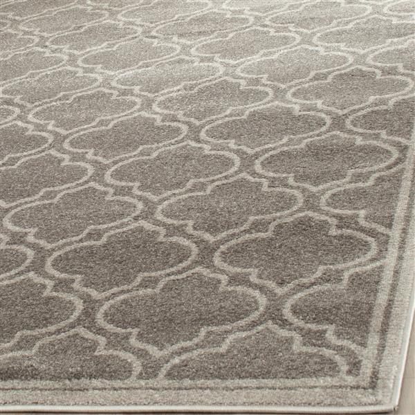 Safavieh Amherst Geometric Rug - 4' x 6' - Gray/Ivory