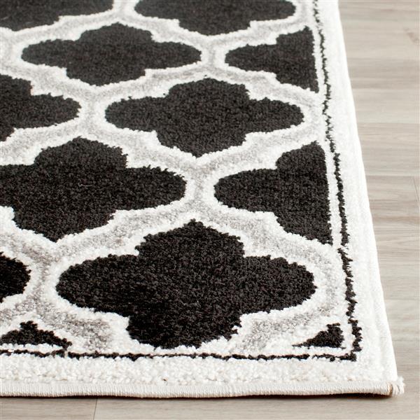 Safavieh Amherst Trellis Rug - 2' x 4' - Ivory/Black