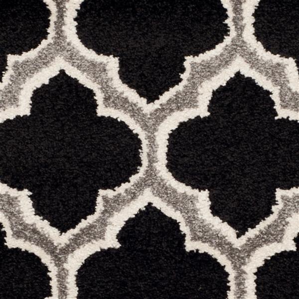 Safavieh Amherst Trellis Rug - 3' x 5' - Ivory/Black