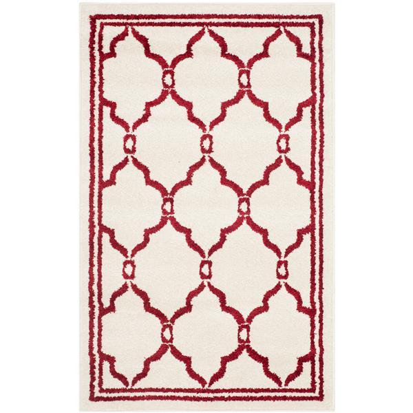 Safavieh Amherst Trellis Rug - 2' x 4' - Ivory/Red