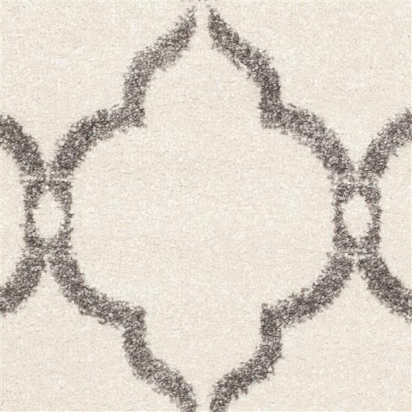 Safavieh Amherst Trellis Rug - 2' x 7' - Ivory/Gray