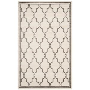 Safavieh Amherst Trellis Rug - 4' x 6' - Ivory/Gray