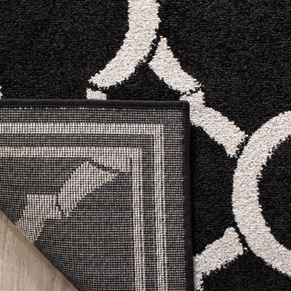 Safavieh Amherst Trellis Rug - 2' x 7' - Black