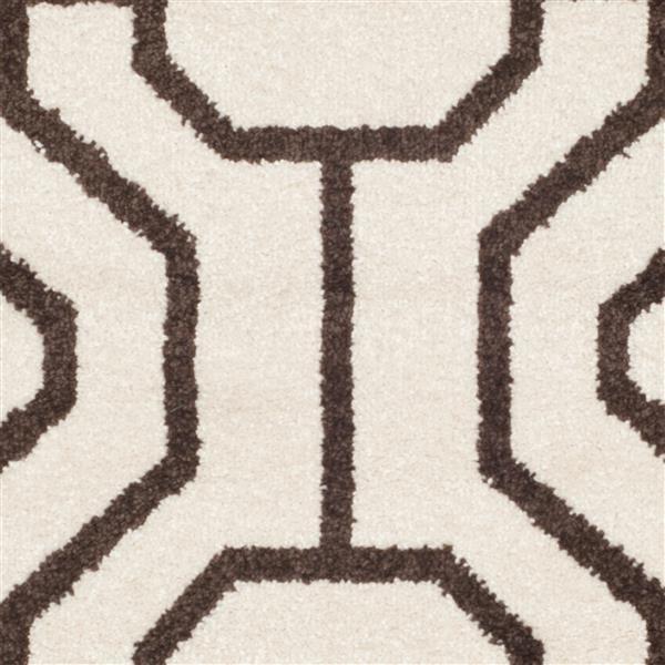 Safavieh Amherst Geometric Rug - 3' x 5' - Ivory/Brown
