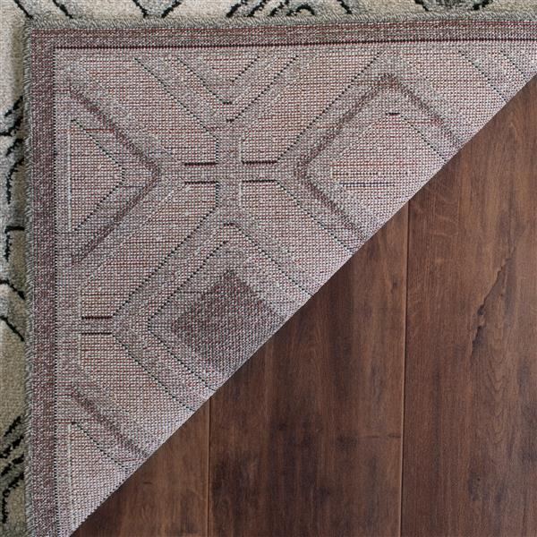 Safavieh Amherst Geometric Rug - 3' x 5' - Ivory/Light Gray