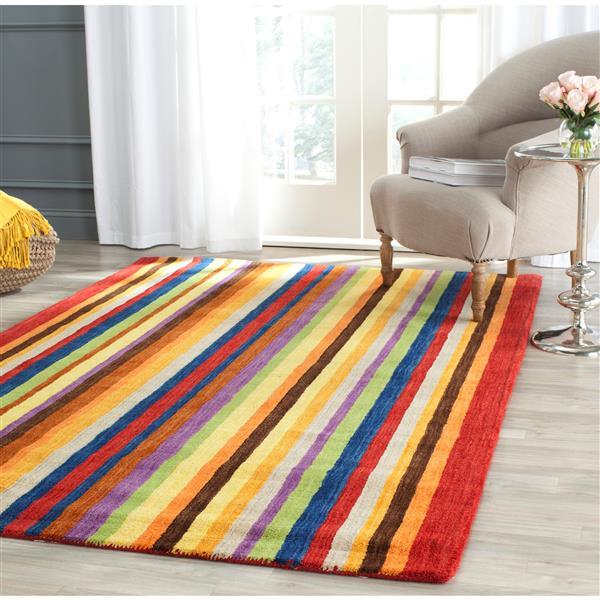 Himalaya Stripe Rug - 8' x 10' - Multicolour