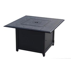 Douglas Convertible Fire Pit Table - Dark Grey - 40