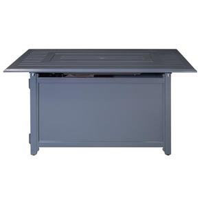 Gale Convertible Fire Pit Table - Grey - 45.67