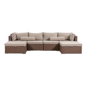 Sarah Outdoor Sofa Set - Beige