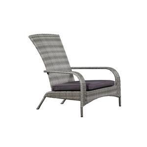 Wicker Muskoka Outdoor Chair - Grey