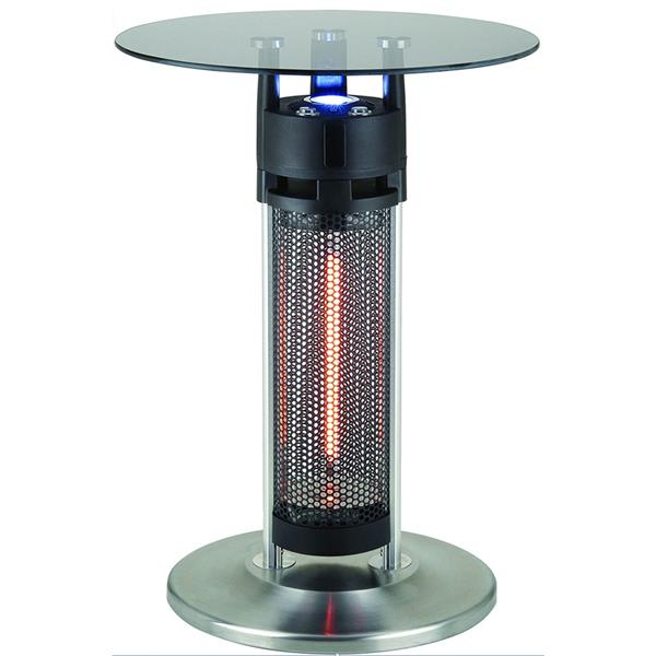 EnerG+ Bistro Style Infrared Heated Table - LED lights - 1400 Watts