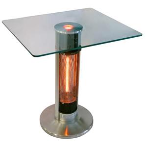Table bistro chauffe-terrasse Infra-rouge Energ+, 29.5""