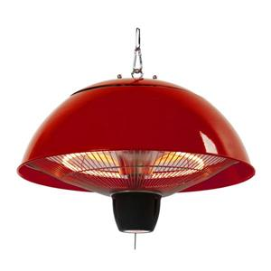 EnerG+ Hanging Electric Gazebo Heater - Red - 1500 Watts