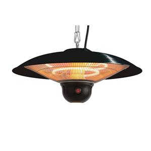 EnerG+ Hanging Infrared Gazebo Heater - Black - 1500 Watts
