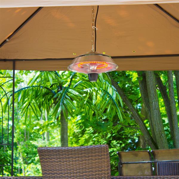 EnerG+ Outdoor Hanging Heater HEA-21523 - Silver - 1500 Watts
