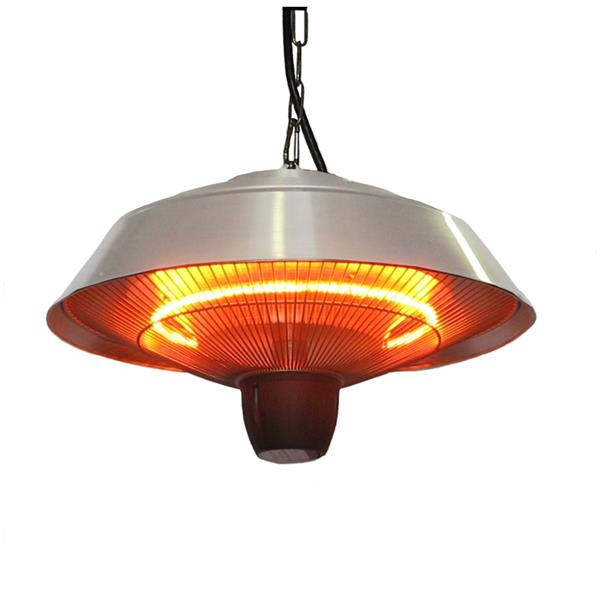 Energ Outdoor Hanging Heater Hea 21523 Silver 1500 Watts Rona