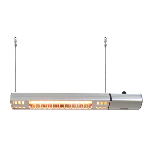 EnerG+ Infrared Electric Outdoor Heater Wall Mount 1500W - 23.6""
