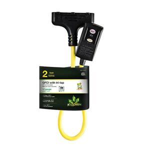 "DDFT avec ""Tri-Tap"" de GoGreen Power, 20 A, 2',  jaune"