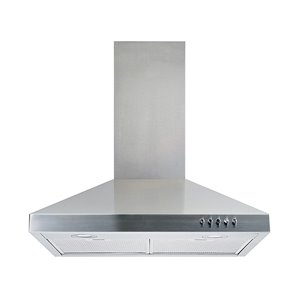 "Turin Dakota Wall Mounted Range Hood - 30"" - 800 CFM"