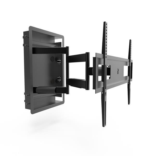 Kanto R500 In-Wall Full Motion TV Mount for 46 to 80-in TVs