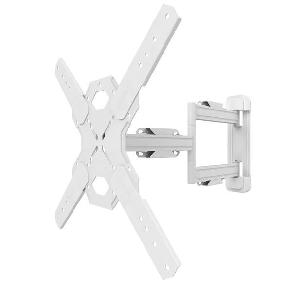Kanto PS300W Full Motion Mount for 26 to 60-in TVs - White