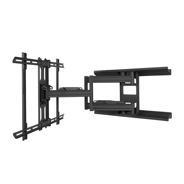 Kanto PDX650 Full Motion Mount for 37 to 75-in TVs, Black