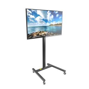 Kanto MKH65 Rolling TV Stand for 37 to 65-in Displays, Black