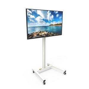 Kanto MKH65 Rolling TV Stand for 37 to 65-in Displays, White