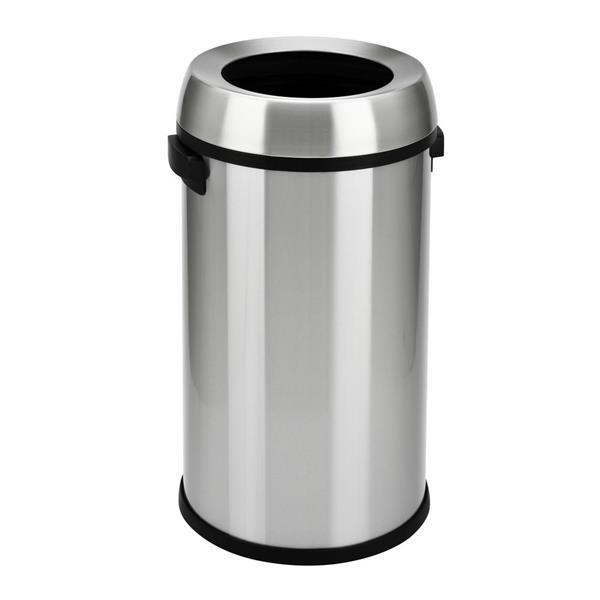 Step N' Sort Open Top Commercial Trash Can, 65 Litre