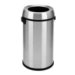 The Step N' Sort Open Top Commercial Trash Can, 65 Litre