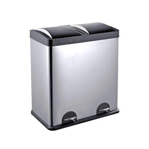 Step N' Sort 60 Litre 2 Compartment Trash and Recycling Bin