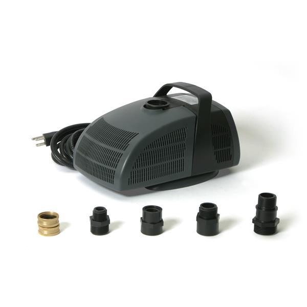Algreen Products Algreen Rain Barrel Pump Upgrade Kit - 1350 gal./h