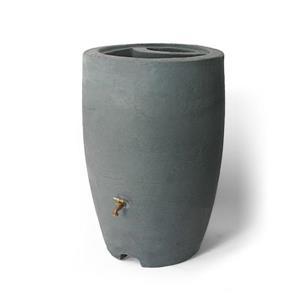 Baril de pluie décoratif Athena, 50 gallons, anthracite