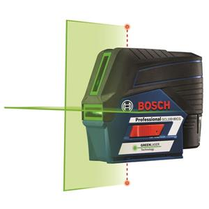 Bosch Connected Green-Beam Cross-Line Laser - 12V Max
