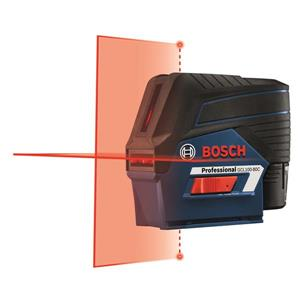 Connected Cross-Line Laser with Plumb Points - 12V Max