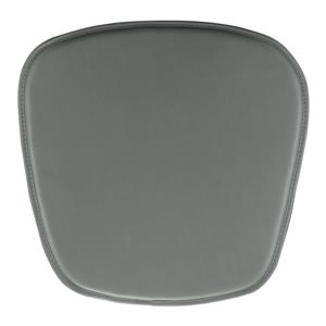 Coussin pour chaise Zuo Modern, 15 po x 17 po x 17 po, gris