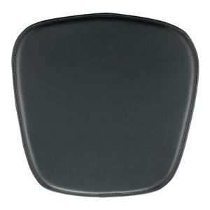 Coussin pour chaise Zuo Modern, 15 po x 17 po x 17 po, noir