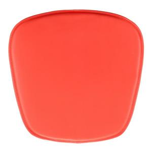 Coussin pour chaise Zuo Modern, 15 po x 17 po x 17 po, rouge