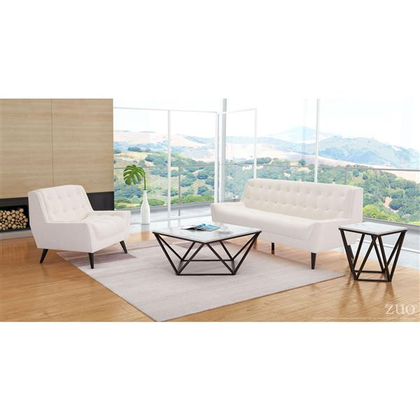 Zuo Modern Natucket Sofa - 78.7-in x 34.3-in - Beige