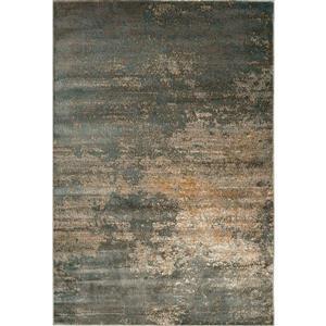 Tapis Murano moderne à motifs abstraits, Gris, 8'x10'