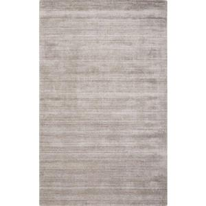 Handmade Solid Wool Viscose Rug - Taupe - 8'x10'