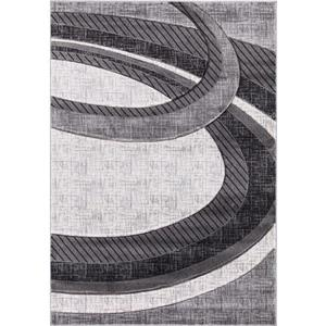 Segma Chica Area Rug - 8-ft x 11-ft - Polypropylene - Gray