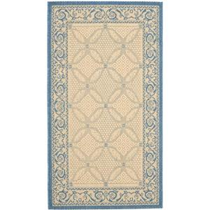 Decorative Courtyard Rug - 2' x 3' 7