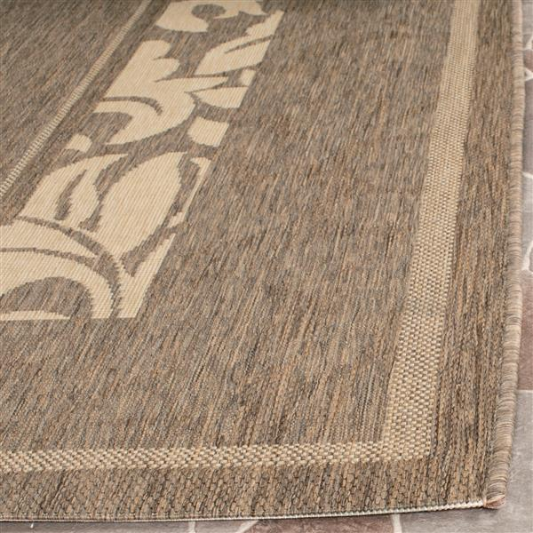 "Safavieh Decorative Courtyard Rug - 2' x 3' 7"" - Natural/Brown"